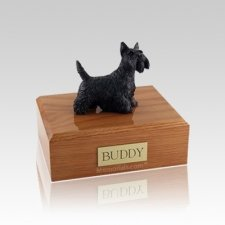 Scottish Terrier Standing Small Dog Urn