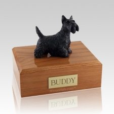 Scottish Terrier Standing X Large Dog Urn