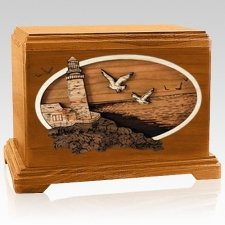 Sea Coast Mahogany Hampton Cremation Urn