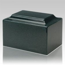 Sea Holly Green Granite Keepsake Cremation Urn