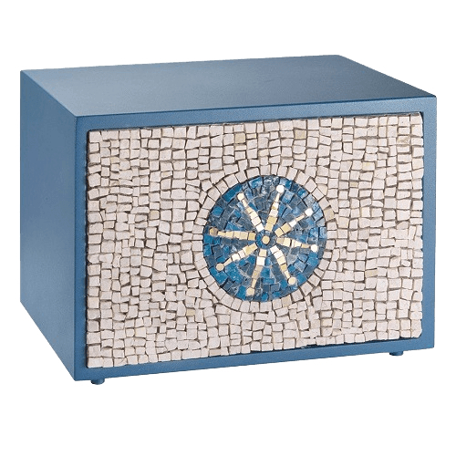 Unique Sea Mosaic Urn