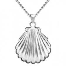 Sea Shell Keepsake Pendant