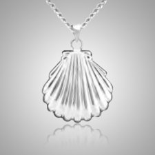 Sea Shell Keepsake Pendant