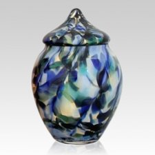 Seafront Glass Pet Urn