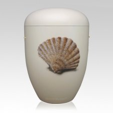 Muschel Biodegradable Funeral Urn