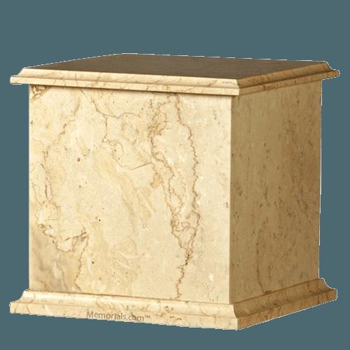 Seashell Eternity Marble Cremation Urn