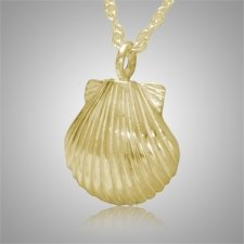 Seashell Nature Keepsake Pendant IV