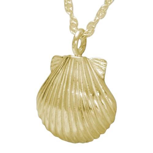 Seashell Nature Keepsake Pendant IV