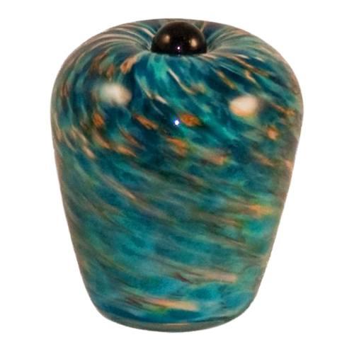 Seaside Glass Pet Keepsake Urn