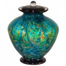 Seaway Glass Cremation Urn