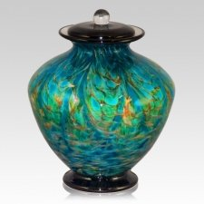 Seaway Glass Cremation Urn