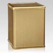 Sencillo Bronze Cremation Urn