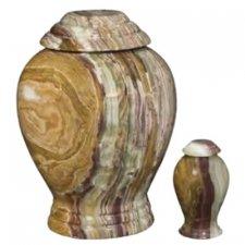 Sencillo Onyx Cremation Urns