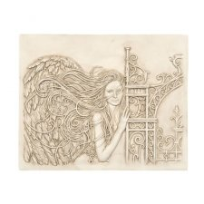 Sentry Angel Wall Garden Statue
