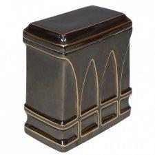 Sepia Porcelain Cremation Urn