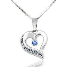 September Heart Keepsake Jewelry