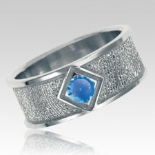 September Birthstone 14k White Gold Ring Print Keepsakes