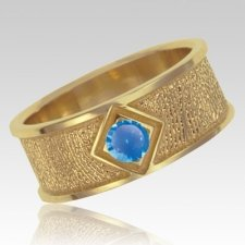 September Birthstone 14k Yellow Gold Ring Print Keepsake