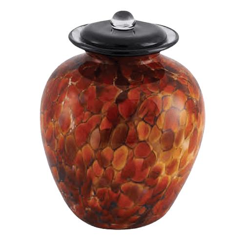 Serenade Glass Cremation Urn