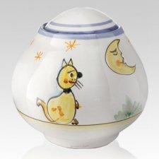 Serenata Ceramic Cat Urn
