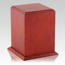 Serene Wood Cremation Urn