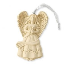 Serenity Angel Keepsake Ornament