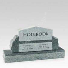 Serenity Granite Memorial Headstone