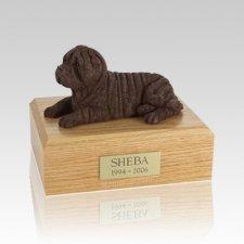 Shar Pei Chocolate Large Dog Urn