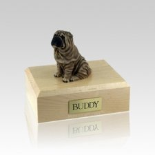 Shar Pei Small Dog Urn