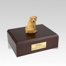 Shar Pei Tan Medium Dog Urn