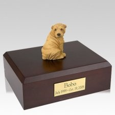 Shar Pei Tan X Large Dog Urn