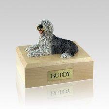 Sheepdog Medium Dog Urn