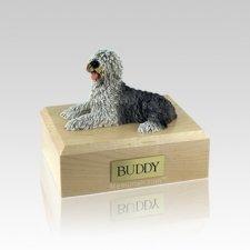 Sheepdog Small Dog Urn