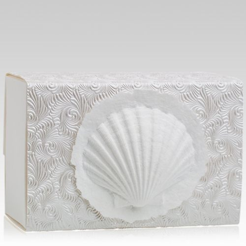 Shell Swirl Biodegradable Urns