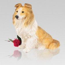 Sheltie Dog Urn