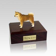Shiba Small Dog Urn