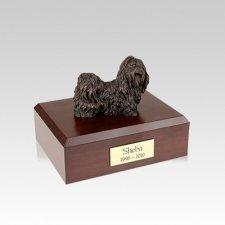 Shih Tzu Bronze Small Dog Urn