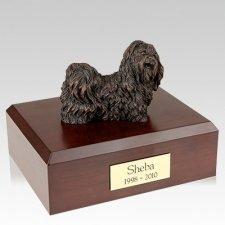 Shih Tzu Bronze X Large Dog Urn
