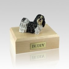 Shih Tzu Standing Medium Dog Urn