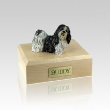 Shih Tzu Standing Small Dog Urn
