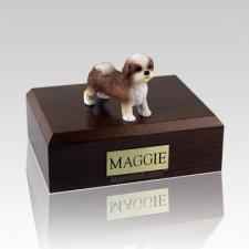 Shih Tzu Tan Puppycut X Large Dog Urn