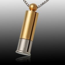 Shotgun Cremation Pendant