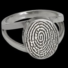 Signet Cremation Print Rings