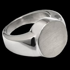 Signet Cremation Ring