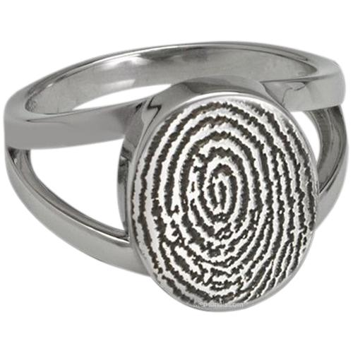 Signet Ring Print Sterling Silver Keepsakes