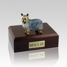 Silky Terrier Large Dog Urn