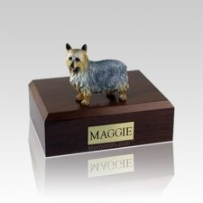 Silky Terrier Medium Dog Urn