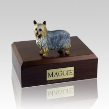Silky Terrier X Large Dog Urn