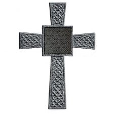 Silver Celtic Memorial Cross