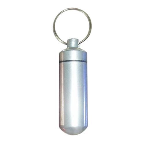 Silver Cremation Keychain
